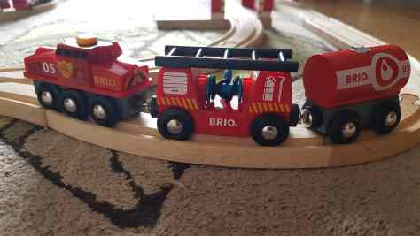 BRIO Rescue Firefighting Train