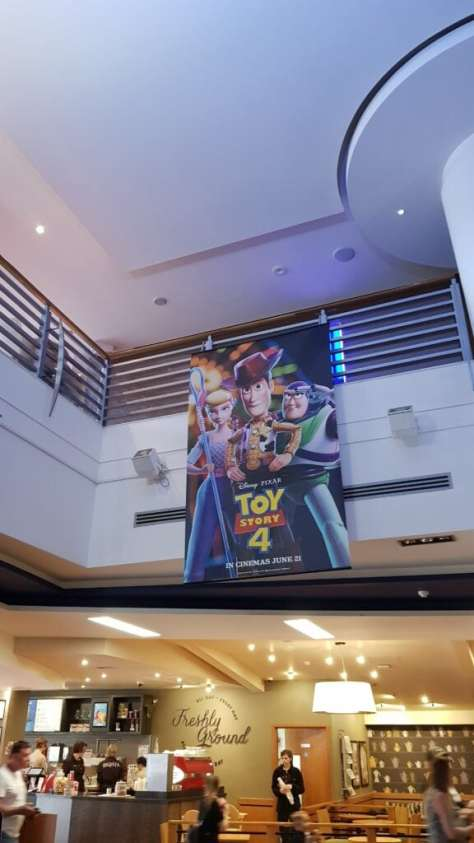 Toy story 4 cinema trip
