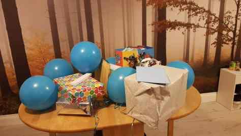 Birthday party ready