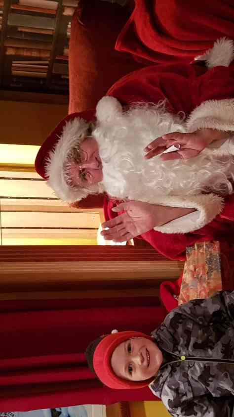 Seeing Father Christmas