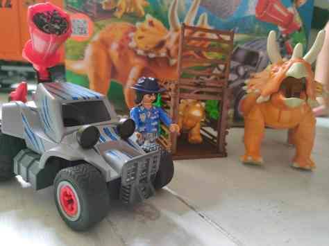 Playmobil Dinos Enemy Quad