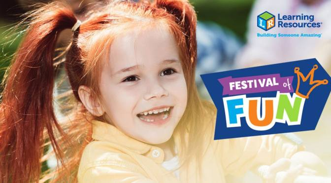 Celebrate play and win educational toys with the Learning Resources® Festival of Fun!