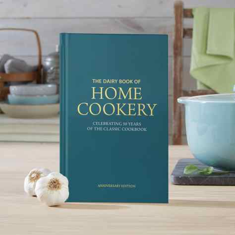 Front cover shot of the Dairy Book of Home Cookery