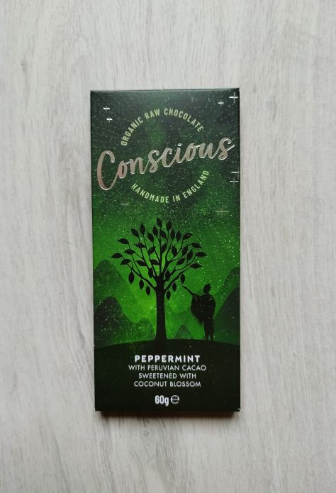 Conscious Chocolate Peppermint