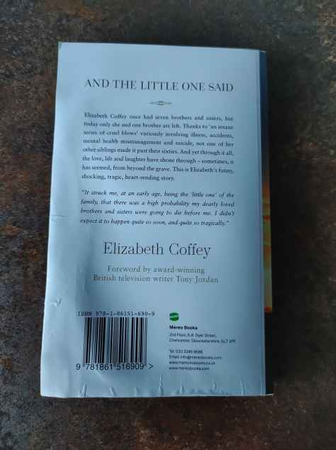 book review - and the little one said