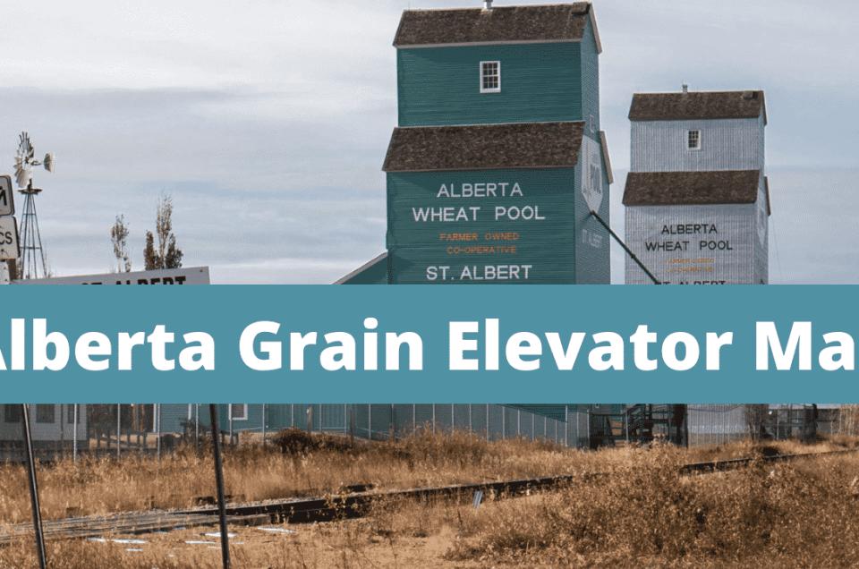 Grain Elevators In Alberta
