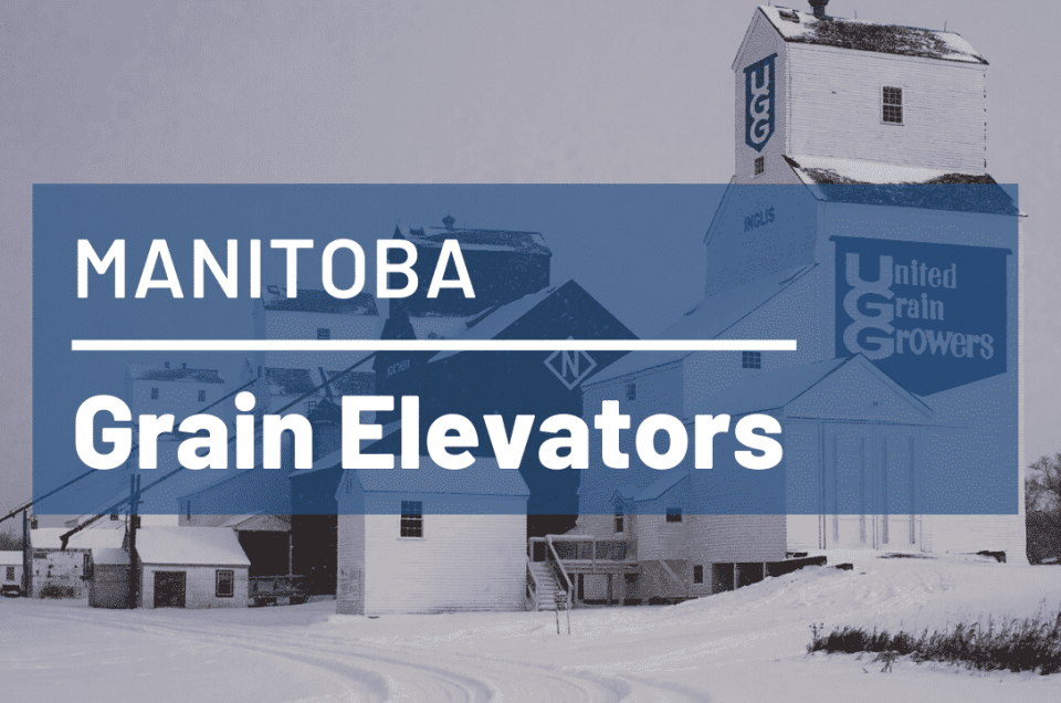 Grain Elevators In Manitoba