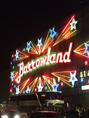 The famous Barrowlands
