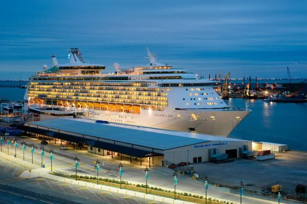 houston to galveston cruise transportation