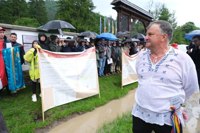 Úzvölgyi katonatemetõ - A románok erõszakos benyomulása ut