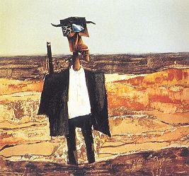 'The Last Days of Leichhardt' by Albert Tucker, 1964