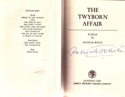 Patrick white signature