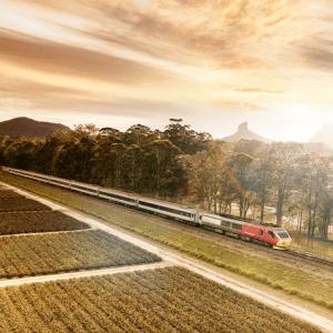 Spirit of Queensland rail journey, Australia