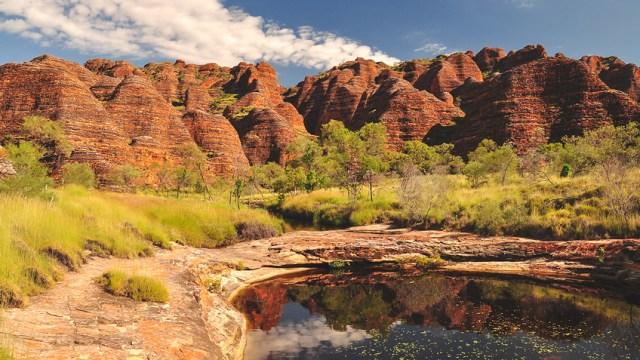 Bungle Bungles in Kimberley Western Australia