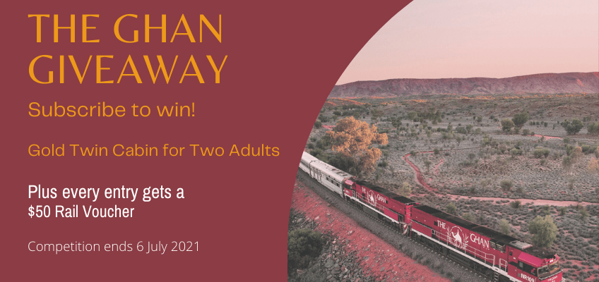 The Ghan Giveaway