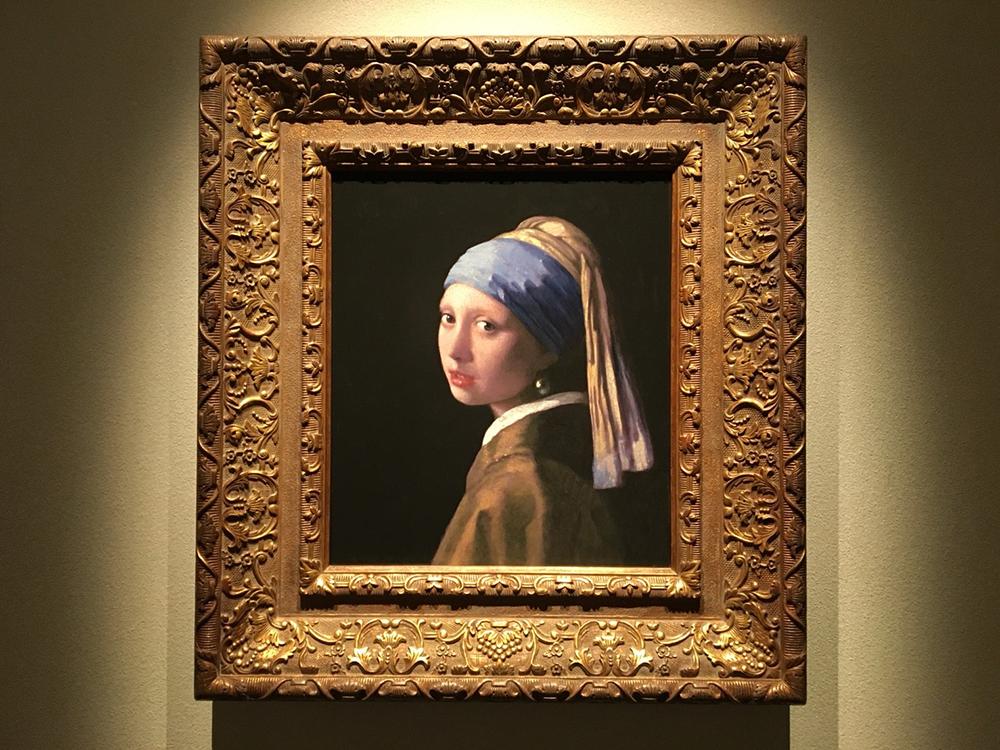 絵画「真珠の耳飾りの少女」