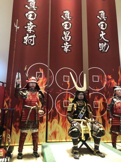 真田ミュージアム入口の人形