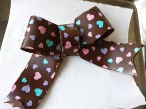 チョコレート細工 作り方