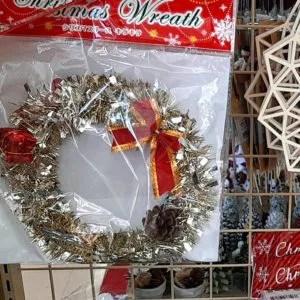 セリア クリスマスリース