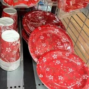 ダイソー お正月 紙皿