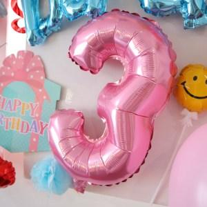セリア 誕生日 バルーン