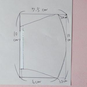 マスク 手作り 立体 型紙