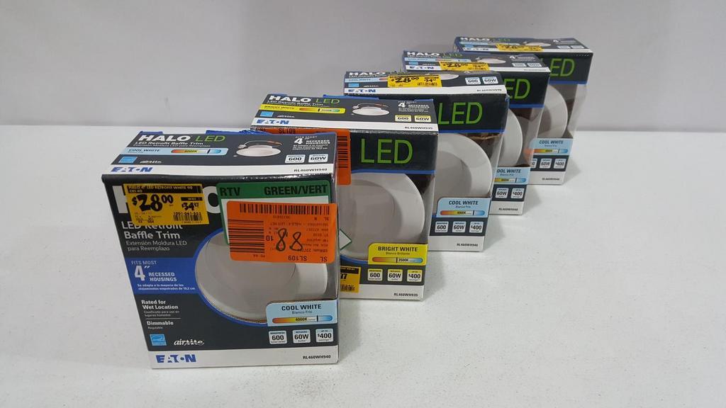 auction ohio lot 5 4 recessed light