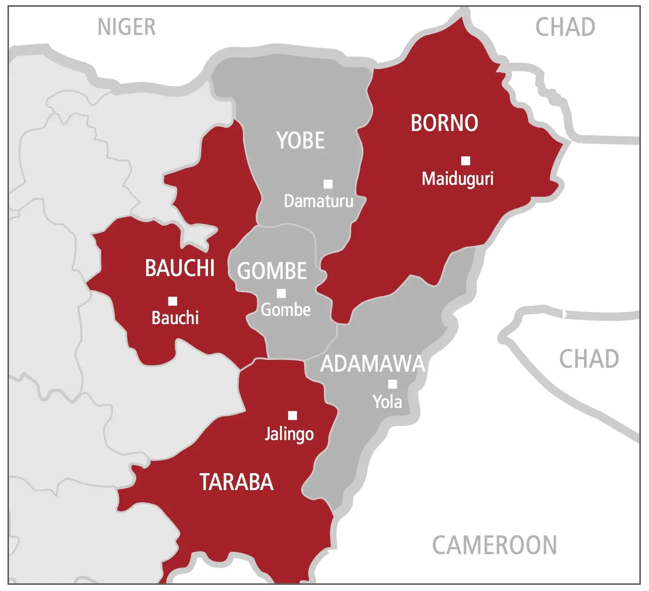 The Violent Road: Nigeria's North East | AOAV on ↗  id=39513