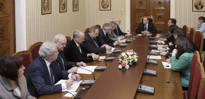 Работодателите представиха приоритетите си пред президента на Република България