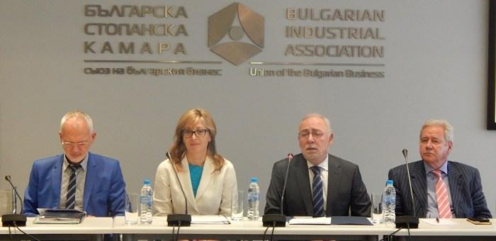 Вицепремиерът Екатерина Захариева на среща с представители на бизнеса: Важно е да капитализираме постигнатото от Българското европредседателство