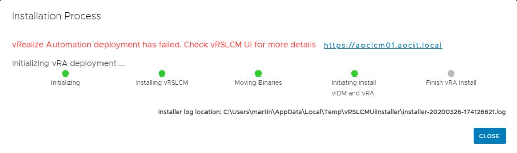 installer-error