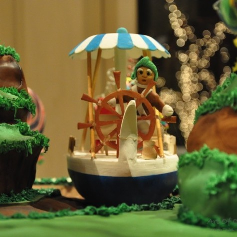 Willy Wonka Amp The Chocolate Factory Gingerbread House