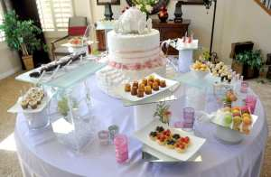 art of cooking design and produce high end themed event cinderella dessert station for magical bridal shower