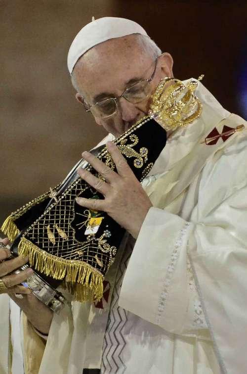 BRAZIL-POPE-WYD-APARECIDA