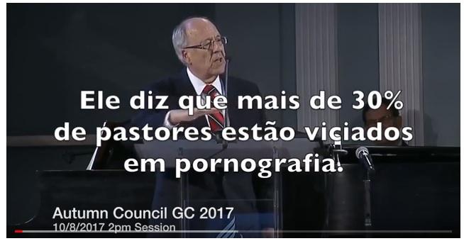 Mais de 30% dos pastores da IASD estão viciados em pornografia