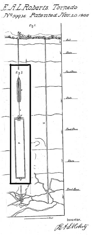 First fracking patent in 1866.