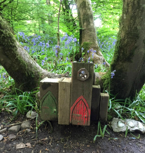 Book Fairy House