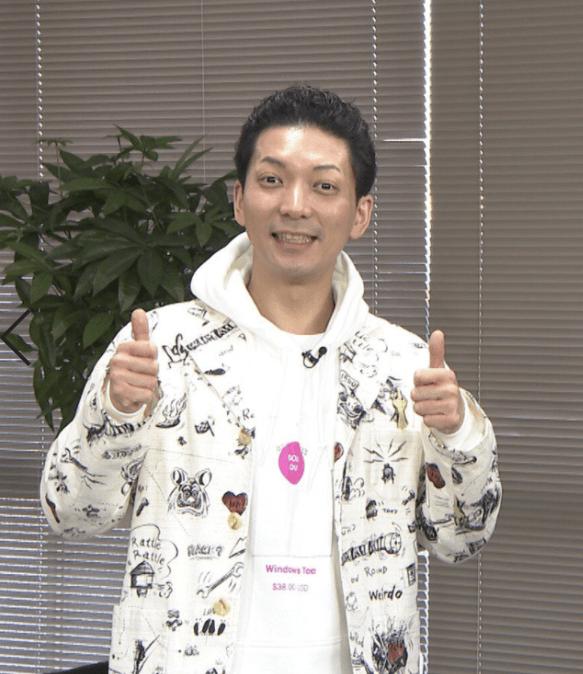 TV番組に出演したお笑い芸人ニューヨークの嶋谷和也