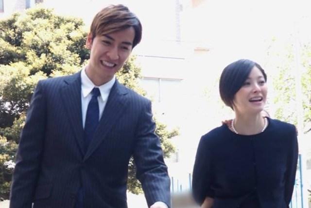 女性自身ツイートの松浦亜弥とお橘慶太夫妻長女の入園式出席写真