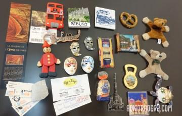 海外旅行のお土産のマグネット