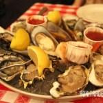 グランドセントラルオイスターバーの生牡蠣盛り合わせ