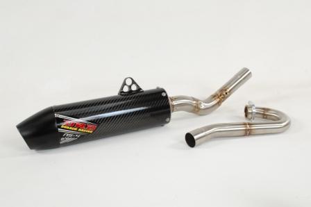 dr d ns 4 full dual exhaust system honda crf250r 18