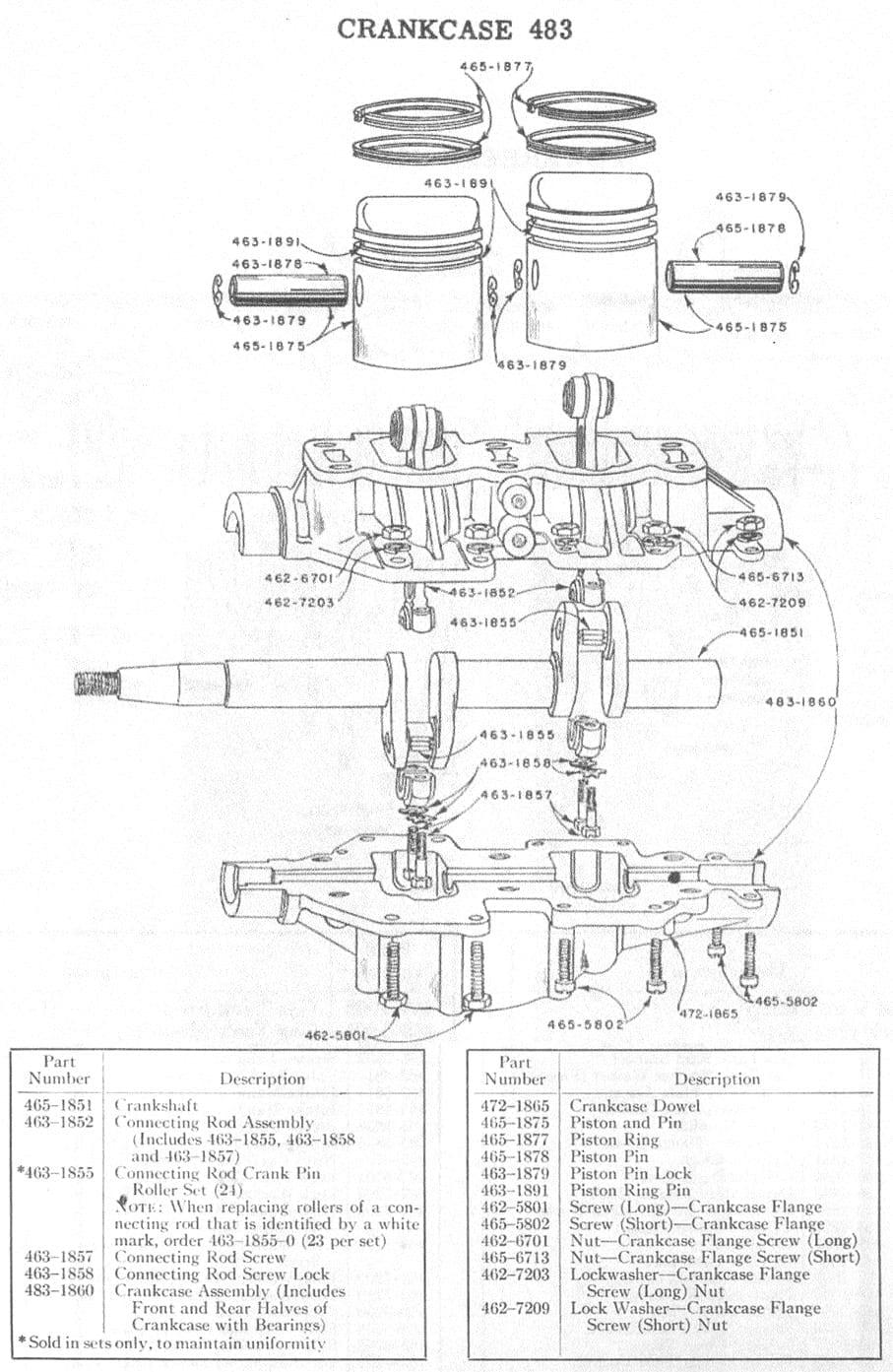 Parts manual, 1948 Firestone 7.5?