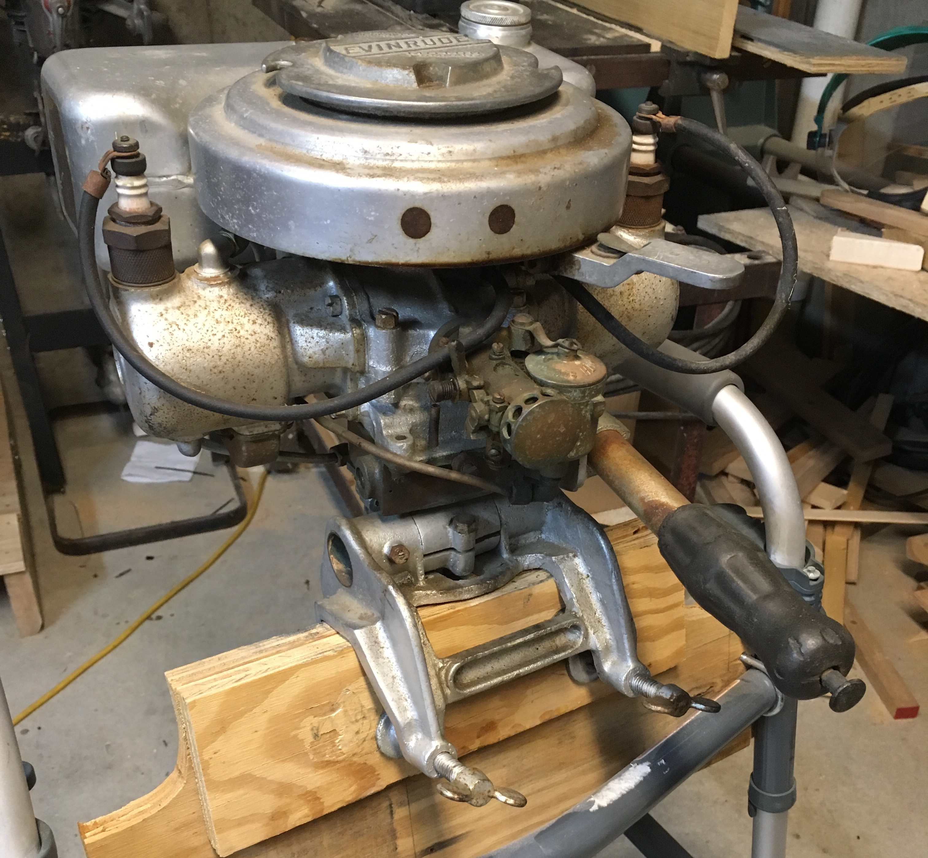 Evinrude Sportwin N Antique Outboard Motor Club Inc