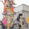 サンバと立佞武多の競演…青森でサンパウロ祭り
