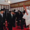青森ワッツ、神社で「必勝」 bjリーグ10月3日開幕
