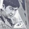 青森・田舎館村 「石のアート」今年の顔は石原裕次郎さんだ!