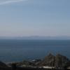 「青森・竜飛崎 」から北海道がくっきりと見える (2017年4月)