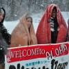 あおもり「地吹雪体験」外国人観光客の参加増!