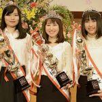 第35回弘前城ミス桜コンテスト結果発表!2019弘前城ミス桜グランプリは松山さん(板柳)‼